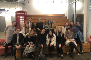 Ad Club Students in New York City